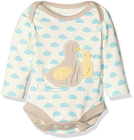 Kite Baby Duckling Bodysuit Romper, Off-White (Cream), 3-6 Months (Manufacturer Size:3-6M)