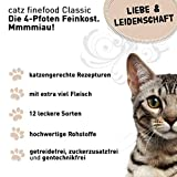 Catz finefood Katzenfutter Multipack II 6x400g (No.15-No.25), 1er Pack (1 x 2.4 kg) - 2