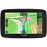 TomTom Via 53 EU-Traffic Navigationsgerät (13 cm (5 Zoll), Updates per WiFi, Smartphone Benachtrichtigungen, Lebenslang Karten Updates (Europa), Lebenslang TomTom Traffic) schwarz