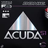 DONIC Belag Acuda S1 Schwarz 2,0mm