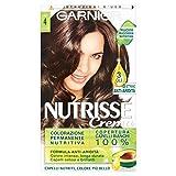 Garnier Nutrisse Colorazione Permanente Nutritiva, 4 Castano