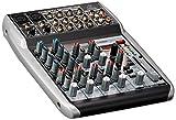 Behringer Xenyx QX1002USB mixer per Dj, studio e karaoke con 10 ingressi e processore FX 24 bit