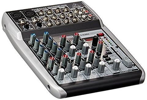 Behringer Xenyx QX1002 USB Table de mixage compacte 10 canaux