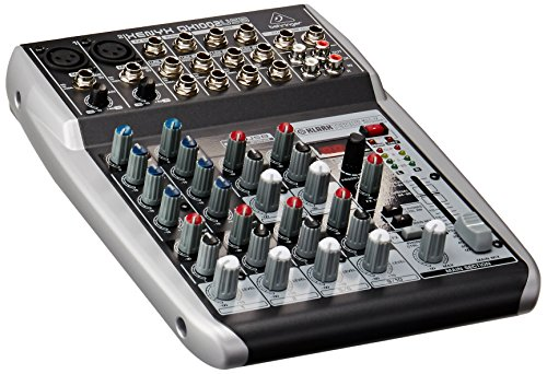 Behringer Xenyx QX1002USB Premium 10 Input 2 Bus Mixer