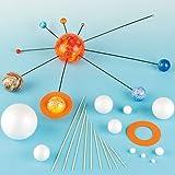 Dein eigenes Sonnensystem - Set zum selber bauen für Kinder für den Astronomie-Unterricht - 2 Bastelsets