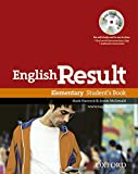 English Result: Elementary: Student's Book with DVD Pack: General English four-skills course for adults