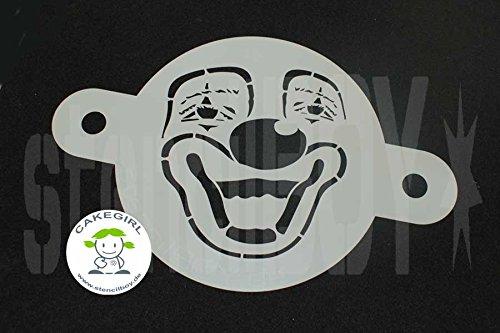 Kuchenschablone - Cake Stencil- 'Clown'