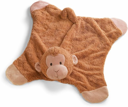 Gund Pippy Monkey Comfy Cozy Baby Blanket (Discontinued by Manufacturer)