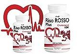 RISO ROSSO PLUS K10 Fermentato 60 compresse (trattamento PER 2 MESI) si prende CURA del TUO CUORE, abbassando il TUO COLESTEROLO! immagine