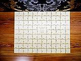 Gästebuch Alternative - Rechteck - Puzzle mit Herzverbinder - 104 tlg. - personalisiert mit Ihren Namen - Puzzle aus Holz - Geschenk zur Hochzeit - individuell personalisierbar