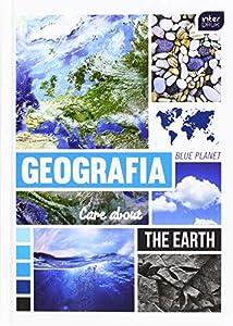 Interdruk BRA5GEO Cuaderno de Tapa Dura A5 80#Geography, Multicolor