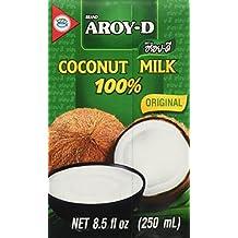 Aroy-D Kokosnussmilch 100%, Ultrahocherhitzt 6 x 250ml