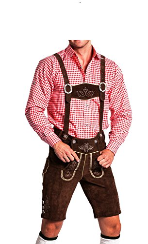 Tradicional pantalón bávaro Oktoberfest hombres