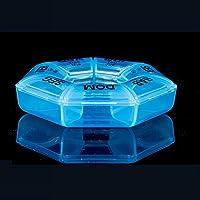 GEZICHTA 7Tage Pillendose, Weekly Rund Box, Medizin Tablet Case Container Storage Halterung für Home Reise, Blau... preisvergleich bei billige-tabletten.eu