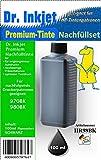 HR98BK - black - Dr.Inkjet Premium Nachfülltinte in 100ml Abfüllungen für Ihren HP Drucker mit den Patronen HP970 oder HP980
