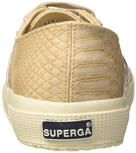 Superga 2750-Pusnakew, Sneaker a Collo Basso Donna Rosa (Nude)
