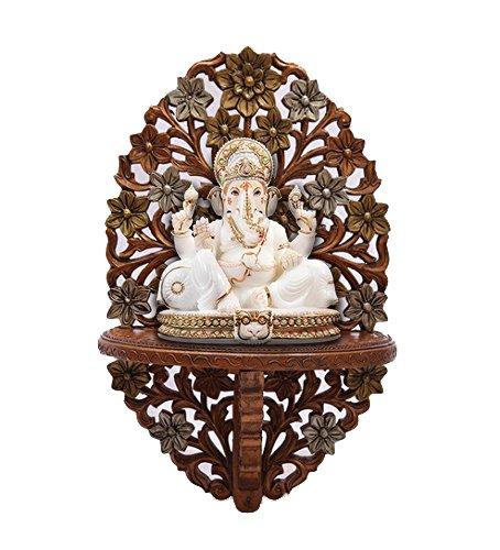 Aarsun-Wooden-Decorative-Corner-Wall-Hanging-Bracket-Shelf-Wooden-Gift-Item-Great-Indian-Festival-Dussehra-Diwali-Sale