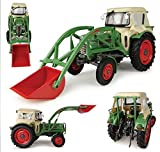 Universal Hobbies UH4946 FENDT Farmer 2 with Cabin & Front Loader 1:32 DIE CAST