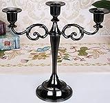 Sodhue Kerzenständer Romantisch Dekorations-Kerzen 3 oder 5-armig Kerzenleuchter - Verschiedene Größen Tischdekoration für Das Weihnachtsfest-Hotelrestaurant des Festivals