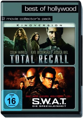 Best of Hollywood - 2 Movie Collector's Pack: Total Recall/S.W.A.T. - Die Spezialeinheit [2 DVDs]