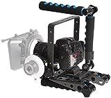 eimo DSLR Spider Rig DR Shoulder Mount Unterstützung Rig Stabilisator für BMPP Blackmagic Cinema Camera, Sony, Nikon, Canon und andere DSLR-Kameras und Camcorder