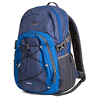 Trespass Albus, Electric Blue, Rucksack 30 Liter, Blau