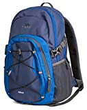 Trespass Albus, Electric Blue, Backpack 30L, Blue