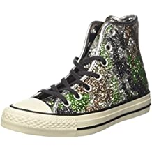 Converse - Converse All Star Scarpe Donna Bordeaux Glitter - burdeos, 37