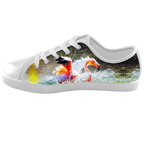 Custom Flamingo Pattern Chaussures Kids Canvas Shoes Footwear Sneakers Shoes Chaussures B