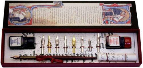 penna-di-legno-8-pennini-2-bottiglie-dinchiostro-di-coles-calligraphy