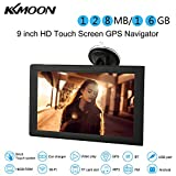 KKmoon 9' GPS Navegador Pantalla Tactil Android 16 GB Multimedia Reproductor WiFi BT FM USB/SD + Mapa Libre Europea