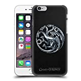 Head Case Designs Offizielle HBO Game of Thrones Silber Targaryen Embossed Sigils Ruckseite Hülle für iPhone 6 / iPhone 6s