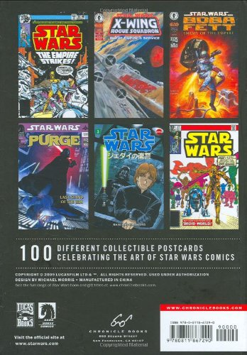 The-Art-of-Star-Wars-Comics-100-Collectible-Postcards