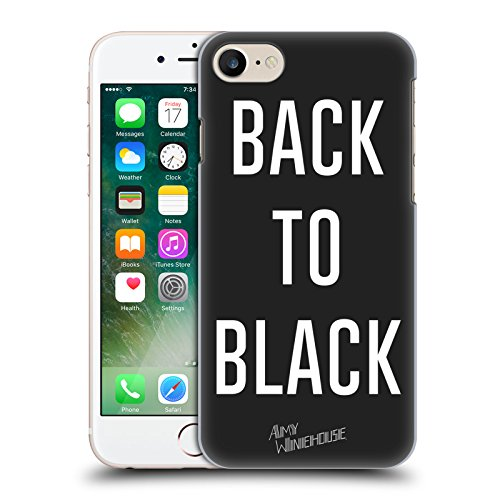 Offizielle Amy Winehouse Back To Black Porträts Ruckseite Hülle für Apple iPhone 6 / 6s Back To Black