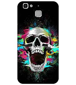 For Huawei Enjoy 5 skulls Printed Cell Phone Cases, ghost Mobile Phone Cases ( Cell Phone Accessories ), scary Designer Art Pouch Pouches Covers, colours Customized Cases & Covers, men Smart Phone Covers , Phone Back Case Covers By Cover Dunia