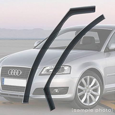 Audi A3 (2003-2012 2DR) Wind Deflectors Rain Wind Window Deflectors