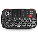 New Dual Mode Wireless Multimedia Keyboard with Touchpad Mouse Rii I4 Bluetooth 4.0