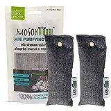Moso Natural Mini Air Purifying Bags, Shoe Deodorizer And Odor Eliminator,