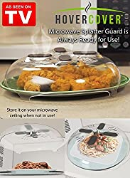 Dreamworld New Microwave Food Cover Splatter Screen Guard With Magnetic Steam Vents
