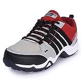 #9: Campus Unisex Grey Mesh Walking Shoes
