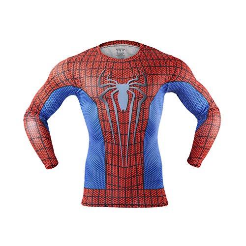 m-baxter-hommes-compression-manches-courtes-sportive-hauts-t-shirt-b-l