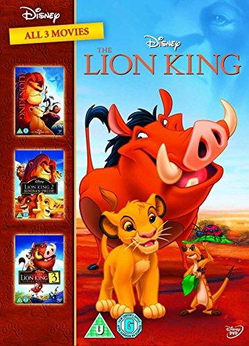 Lion King Trilogy (3 Dvd) [Edizione: Regno Unito]