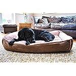 Luxury Fleece Cradle Dog Bed Size Extra Large XL 8