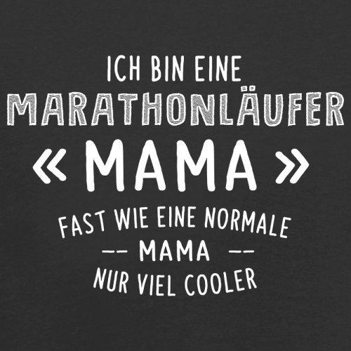 Ich bin eine Marathonläufer Mama - Herren T-Shirt - 13 Farben Schwarz