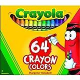 Crayola Color Pack Classic Kreiden, sortiert 64/Box
