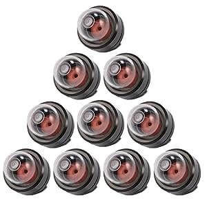 xcsource 10pcs pompe carburant ampoule d 39 amorce enfichable 188 512 pour carburateur. Black Bedroom Furniture Sets. Home Design Ideas
