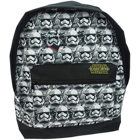 Star Wars Episode 7  Mochila infantil, Negro