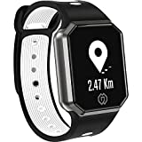 Men ' s Fitness Watch, Monitor frequenza cardiaca, Pressione arteriosa, Sleep, Smart Fashion Sport Bluetooth Watch,Black