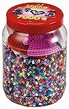 Hama 2020 Dose mit 7000 Perlen, rot/rosa