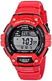 Casio Homme W-S220C-4AVCF Tough Solar Runner Digital Display Quartz Red Montre
